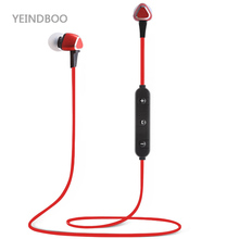 2018 YEINDBOO New TN Active Noise Cancelling Sports Bluetooth Earphone/Wireless Headset for phones and music Magnetism Run