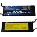 1 unid negro 7.4 v 2700 mah 10c de la batería con el enchufe para hubsan h501s ec2