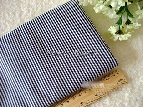 7 шт., 50*50 см, темно-синий, в горошек, в сетку, принт, хлопок, ткань, набор, Telas, швейная кукла, сделай сам, лоскутное одеяло тильда, детский текстиль, Tecido