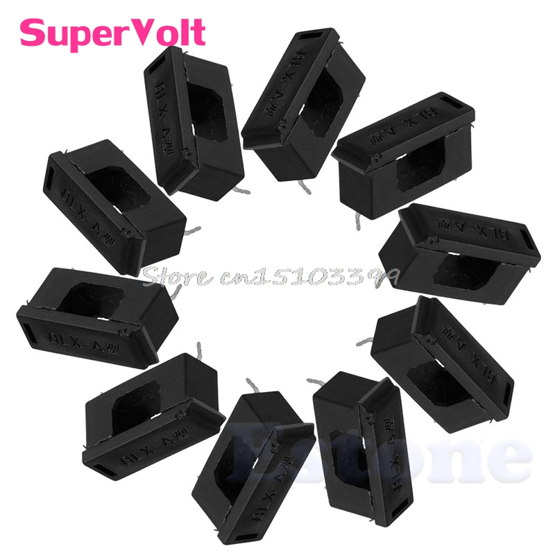 RY-CAN 20 Pcs Rubber Instrument Case Non-Slip Cabinet Box Foot Bumpers Feet 17x10x14mm