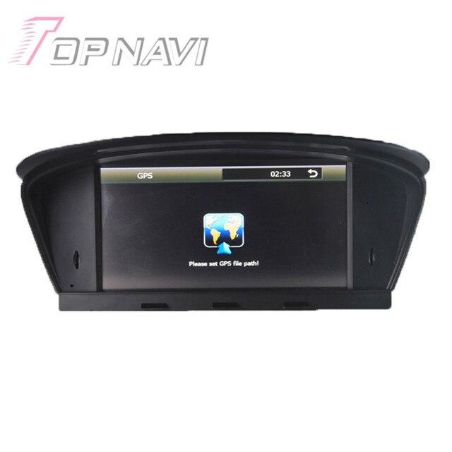 7 polegada Wince Car Stereo Para BMW5 E60 E61 E63 E64 (2003-2010) para BMW M5 (2003-2010), apenas para 6.5 polegadas Do Carro Da Tela de DVD Player