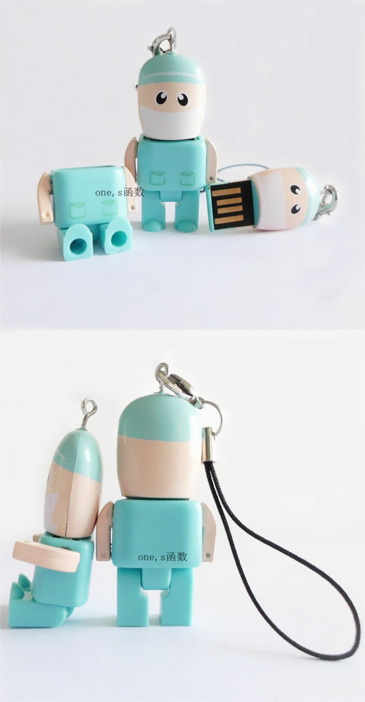 Usb Stick USB flash drive 4GB-64GB Dr. Green cartoon USB Flash 2.0 Memory Drive Stick S2 ...