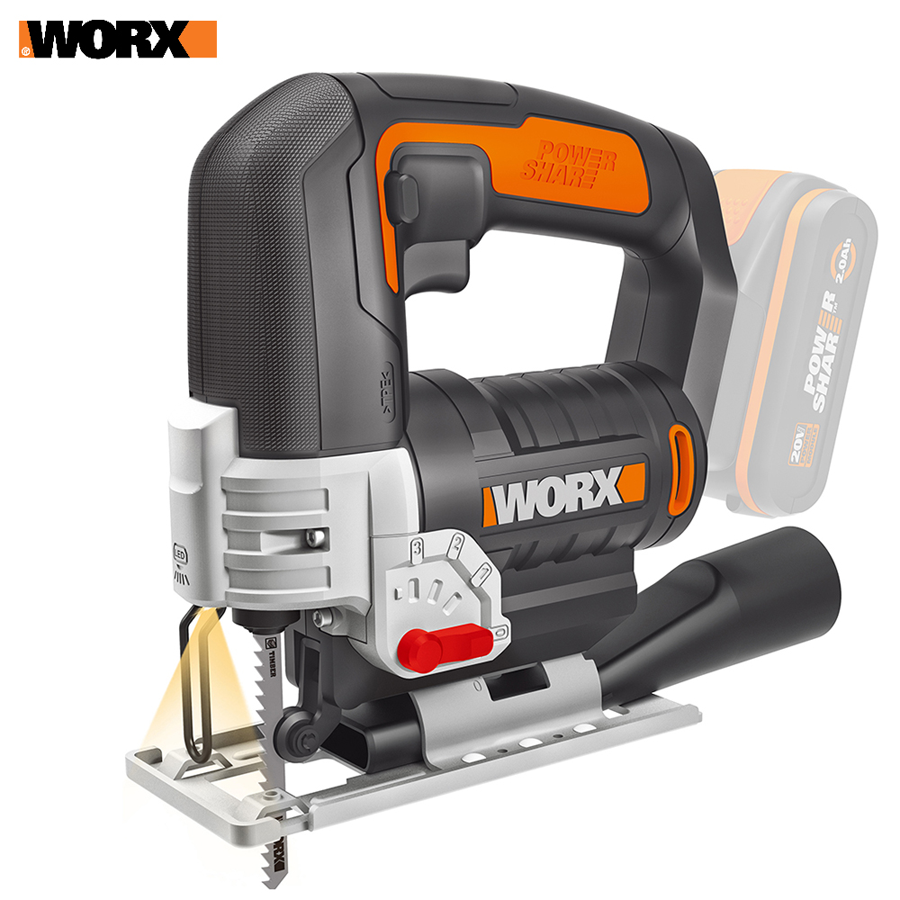 все цены на Electric Saw WORX WX543.9 Power tools jigsaw sable Rechargeable
