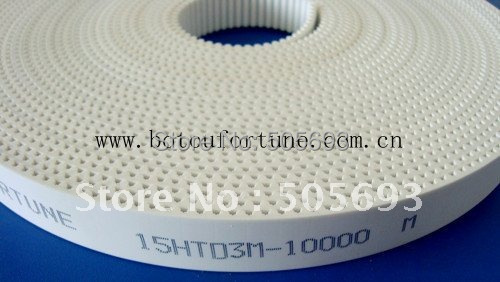HTD3M PU Open teeth belt with 15mm width 10metre a pack