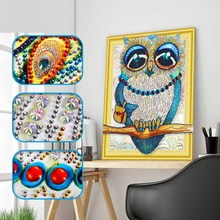 DIY wolf diamond painting special animals dimaond embroidery full drill 5D mosaic round