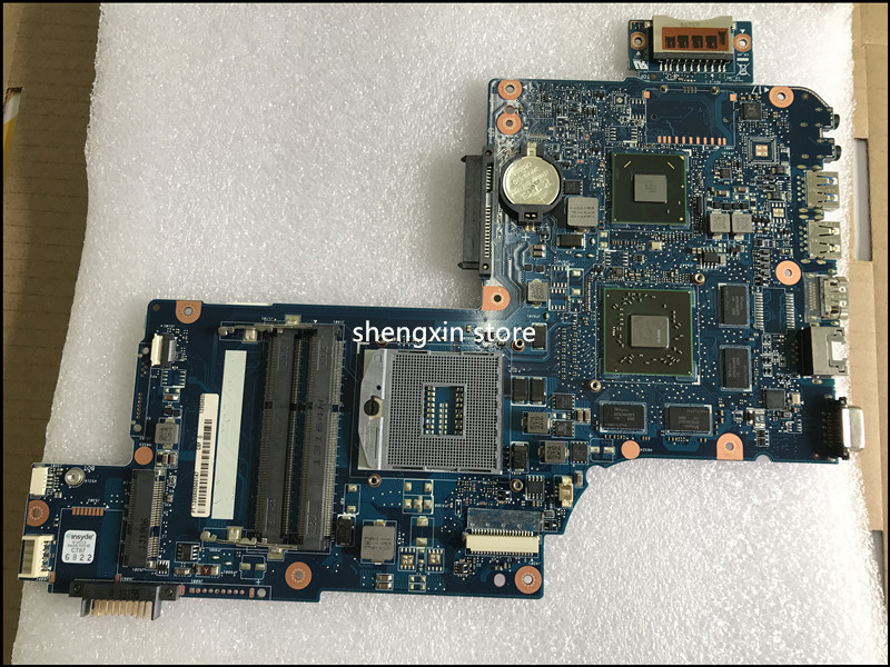 H000041510 L875 Main board For Toshiba Satellite L870 C870 Laptop Motherboard PGA989 <font><b>HD</b></font> <font><b>7670M</b></font> image
