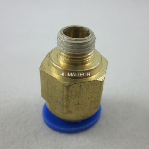 """5pc 10mm Tube Push in Fitting to 1//8/"""" BSP Male Thread Pneumatic Connector f Air"""