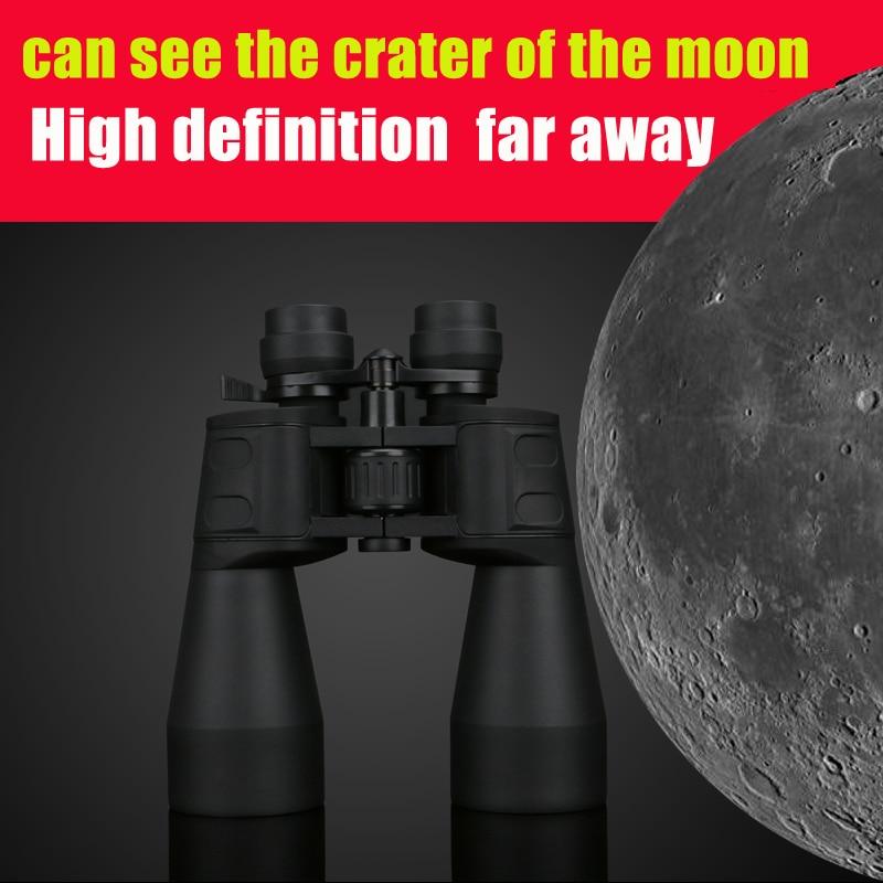 Borwolf 10-60 razy duże powiększenie HD profesjonalny Zoom lornetka 10-380X100 teleskop Light Night Vision
