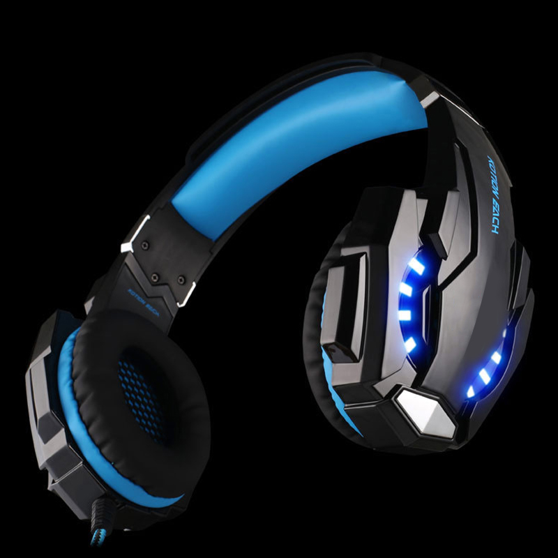 2017 SIFREE G9000 3.5mm Game Gaming headphones Wired Headset Earphone With Mic LED Light For Laptop Tablet / PS4 / Mobile Phones