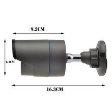 IP Camera ARRAY LED P2P ONVIF Waterproof Outdoor Metal Security CCTV Camera