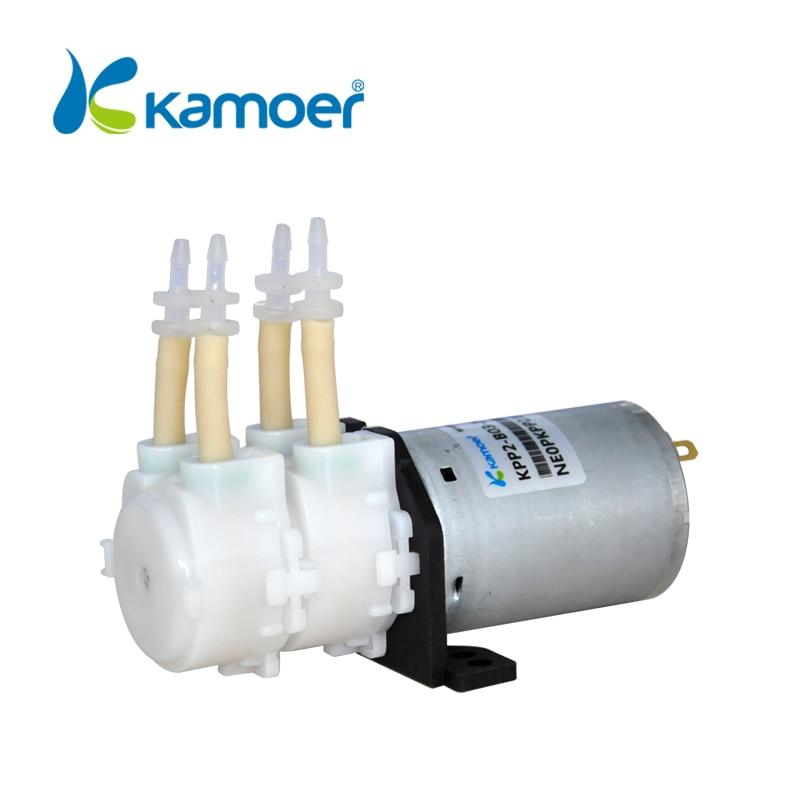Kamoer KPP2 24V DC double head mini peristaltic pump electric water pump micro dosing pump with