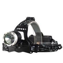 цены на Super bright Rechargeable 18650 10W LED headlamp for fishing&hunting,T6 led head light,Waterproof headlight for camping  в интернет-магазинах