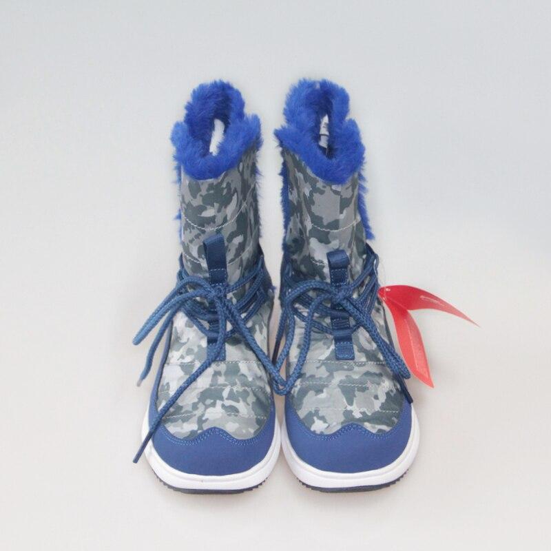 Li-Ning Детские кроссовки маленьких детей Обувь Снегоступы зима теплая Обувь для прогулок детские Нескользящие Обувь для мальчиков и ботинки ...