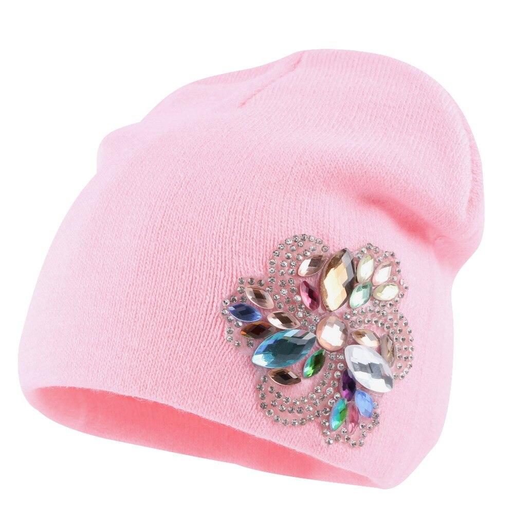 OHCOXOC nuevas mujeres sombrero de piel de visón Real Pom Poms pompones  gorra caliente gorros af5ba6ec074