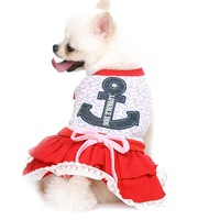 New Design Dog Clothes Wedding Dresses Girl Chihuahua Yorkshire Teddy Poodle Pet Products Clothing For Summer