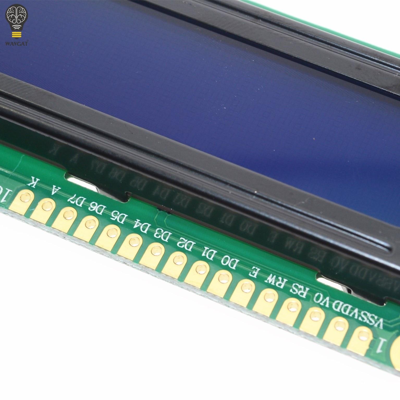 Elektronische Bauelemente Und Systeme Optoelektronische Displays Wavgat Lcd1602 1602 Modul Blau Grün Bildschirm 16x2 Zeichen Lcd Display Modul Hd44780 Controller Blau Schwarz Licht GroßE Sorten