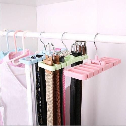 Creative Multifuction Storage Rack Tie Belt Organizer Rotating