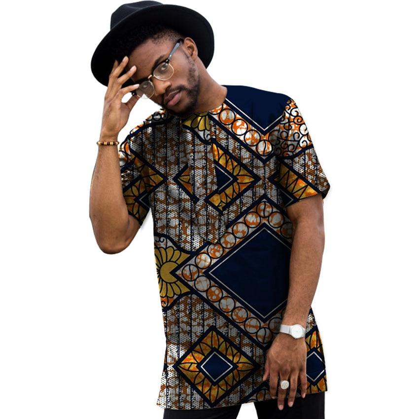 Sommar Dashiki Män Klänning Afrikansk Kläder Mode Tryck Korta - Nationella kläder - Foto 5