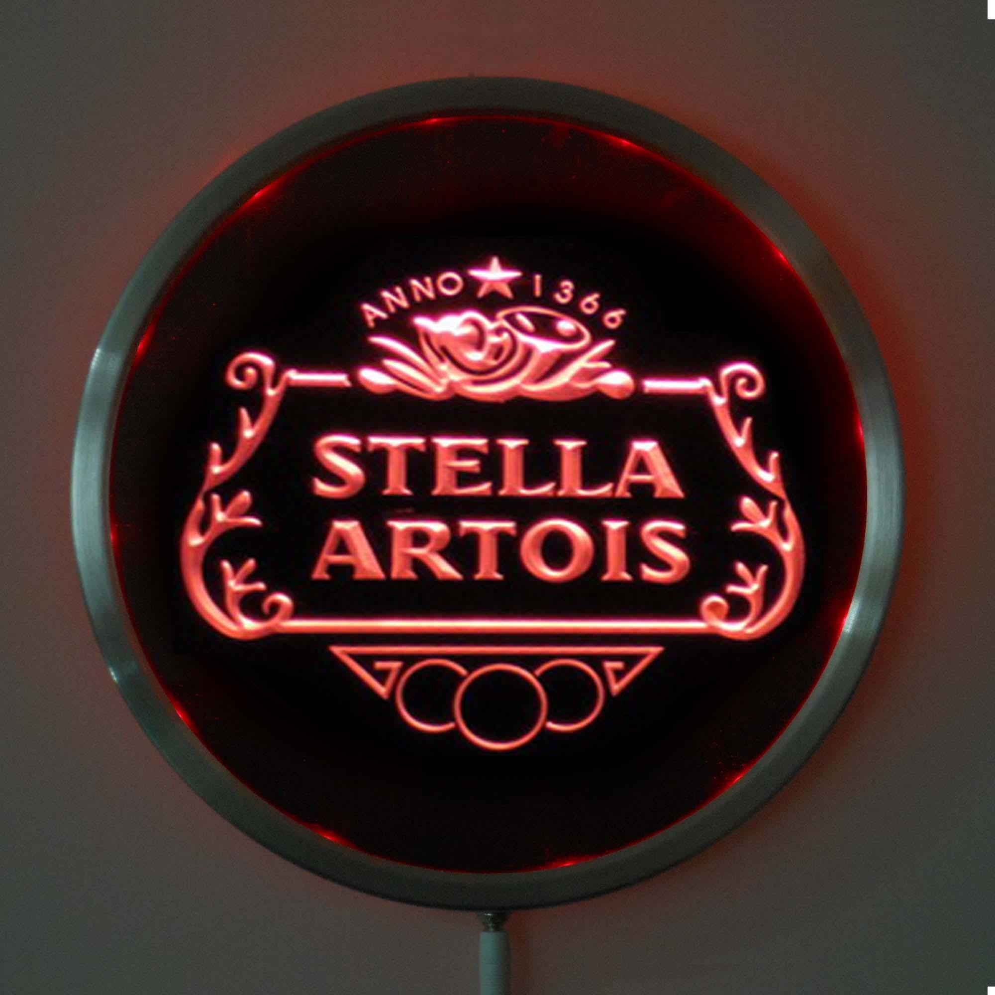 Stella Artois logo volume Guitar Knobs Stella knobs Stella Artois Guitar Knobs