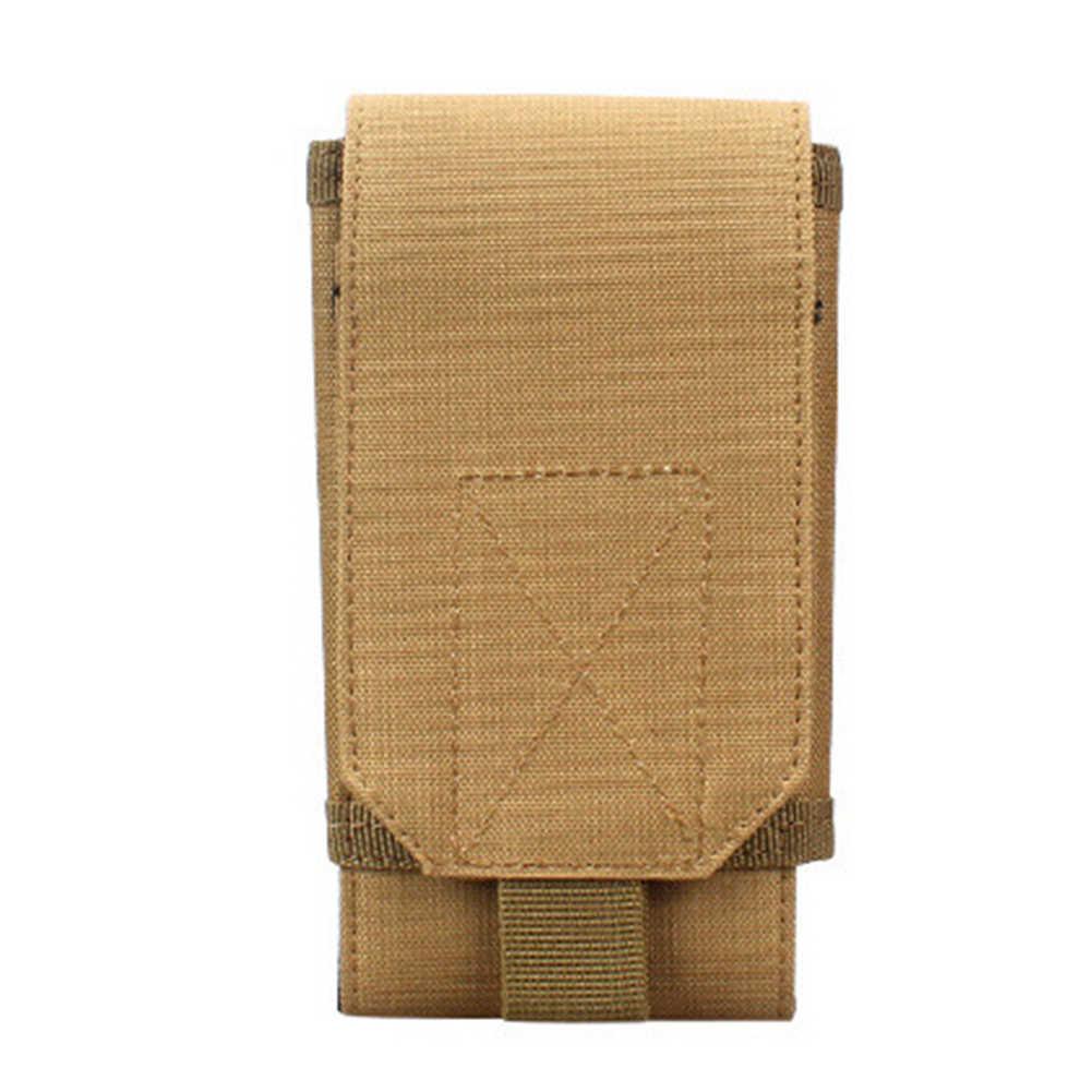 Yüksek kaliteli fanny paketi evrensel açık spor kemer kılıfı cep telefon tutucu kılıfı ordu bel çantası Pochete поясная сумка