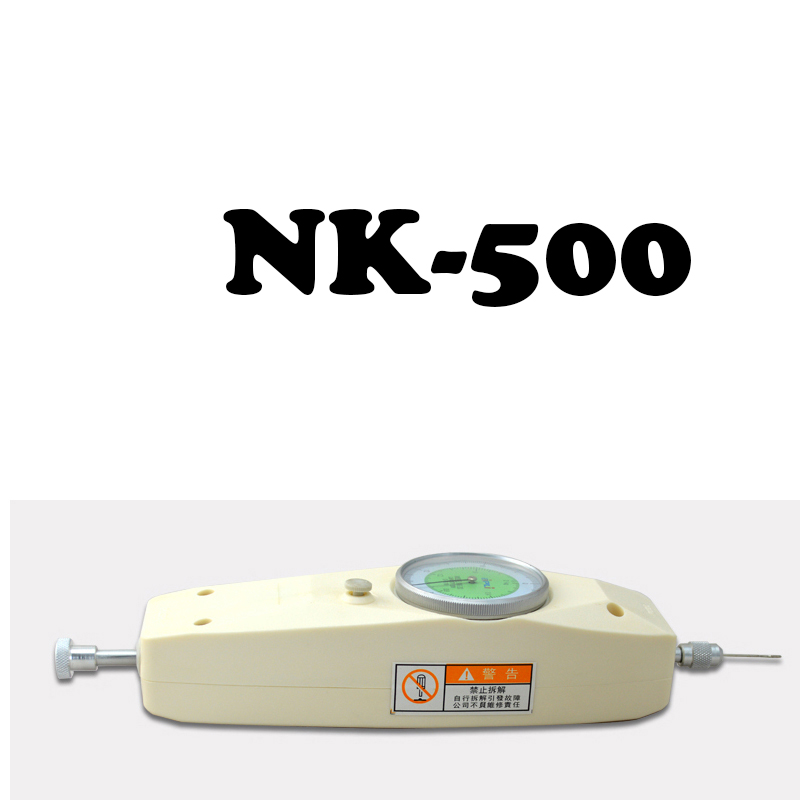 все цены на NK-500 NK Series Push Tension Gauge Pointer Dynamometer 500 N / 50 kg Thrust Torque Tester Analog Push Pull Force Gauge Tension онлайн