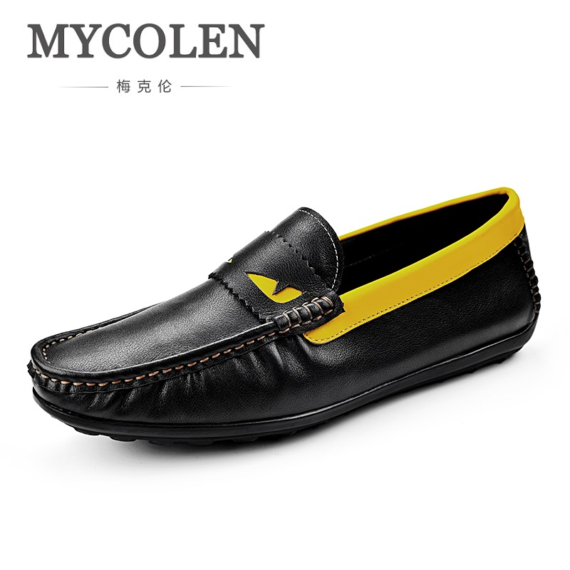 MYCOLEN 2018 Spring Summer New Fashion Brand Men Shoes Breathable Doug Men's Comfortable Tide Casual Shoes Soulier Homme micro micro 2017 men casual shoes comfortable spring fashion breathable white shoes swallow pattern microfiber shoe yj a081