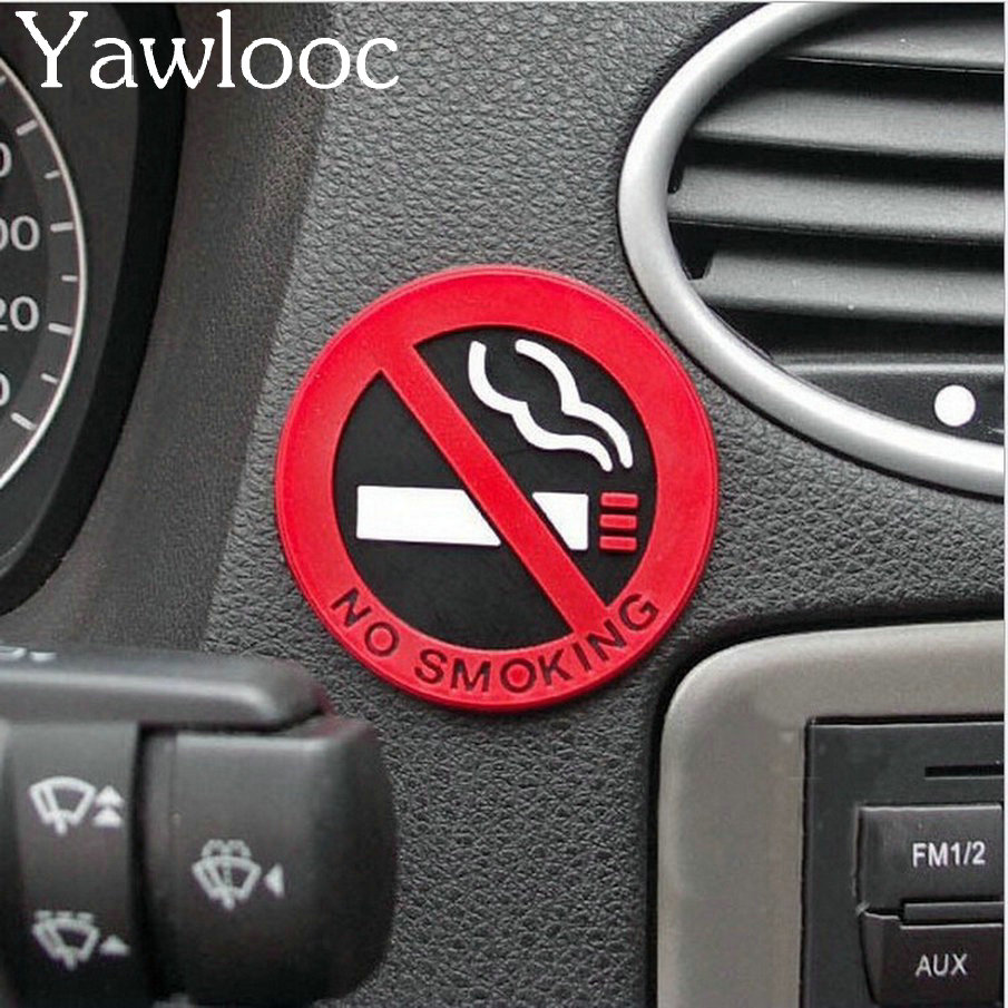 3 шт. Резина Нет Курение Вход советы Предупреждение логотип Стикеры s автомобиля такси Дверь Наклейка знак клей Стикеры продвижение