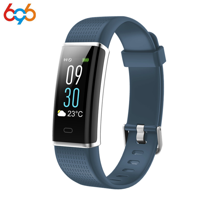 696 ID130C Smart Band Blood Pressure Heart Rate Monitor Wrist Watch Intelligent Bracelet Fitness Bracelet Tracker Pedometer Wris