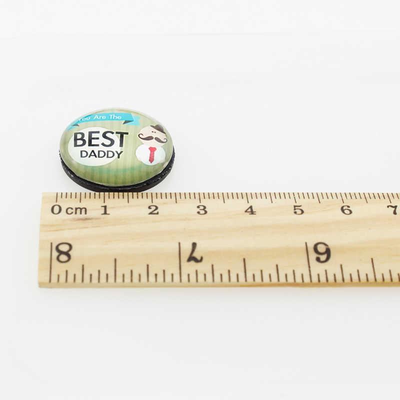 Merci JOINBEAUTY Maitresse 25 milímetros Magnéticos Adesivos Geladeira de Vidro Da Arte Da Foto Rodada Contas Resultados Da Jóia Para O Presente Do Professor