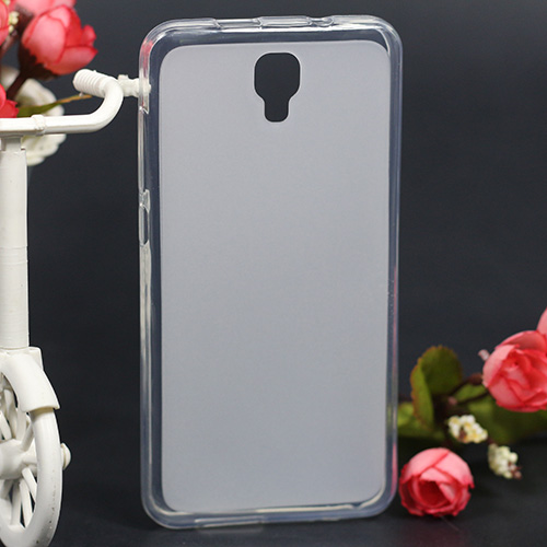 "Θερμή πώληση σαφής θήκη για Fly FS504 Cirrus 2 Case TPU Soft Cover Matte Soft TPU Silicone Cover for Fly FS504 5.0 ""Phone"
