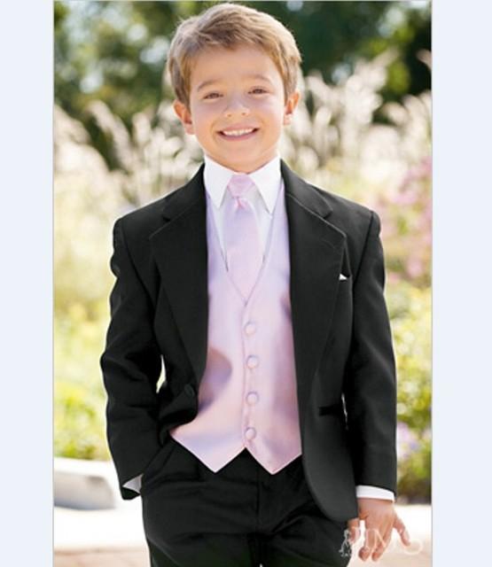 Por Encargo Muesca Solapa Esmoquin Niño Niños Traje 22 Estilos Chico Trajes de Boda/Baile (Jacket + Vest + pantalones + Tie + Shirt) NH6