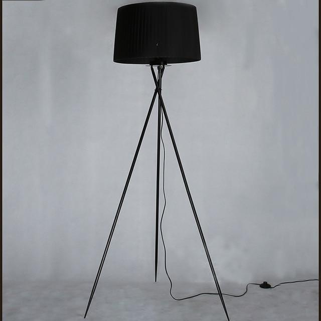 Neue Moderne Minimalistische 3 Bein Stativ Stehleuchte Stoffschirm Kreative  Stehenden Stehlampe Für Wohnzimmer Steht Lampen FL8