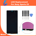 LL TRADER Black LCD Screen For Sony Xperia Z3 LCD Touch Digitizer Screen Assembly Replacement With Tools Free Ship
