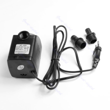 220V 20W 1000L/H Submersible Fountain Air Fish Tank Aquarium Water Pump EU Plug
