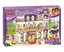 BELA 10547 Fille Série Coeur Lake City Hôtel Fille Amis Blocs de Construction blocs Briques Jouets Compatible avec Lepin 41101