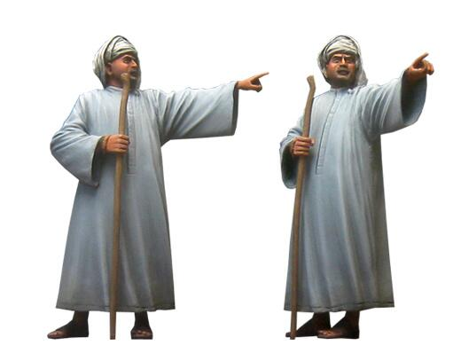 1/35 Resin Figure ARABIAN Man 1pc Model Kits