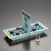 Intelecto Festa Fun Jogos de Tabuleiro Navio Naufragado Jogo Bebendo com 6 Pacote de Caixa de Presentes Da Novidade de Vidro Bebida Alcoólica Bebida Brinquedos Para adultos