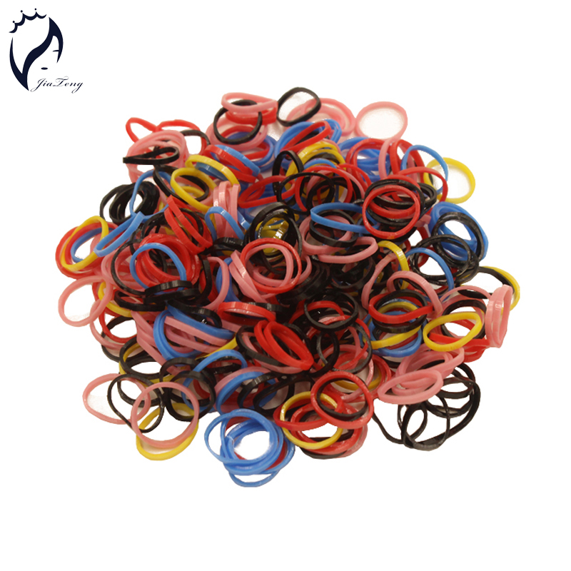 2018 Hot Trendy Rubber Bands 1cm 600pcs bag Kids Baby Child Elastic Hair  Band Tie Rope Braid Hair Style Free Shipping Promotion 743ae93244a
