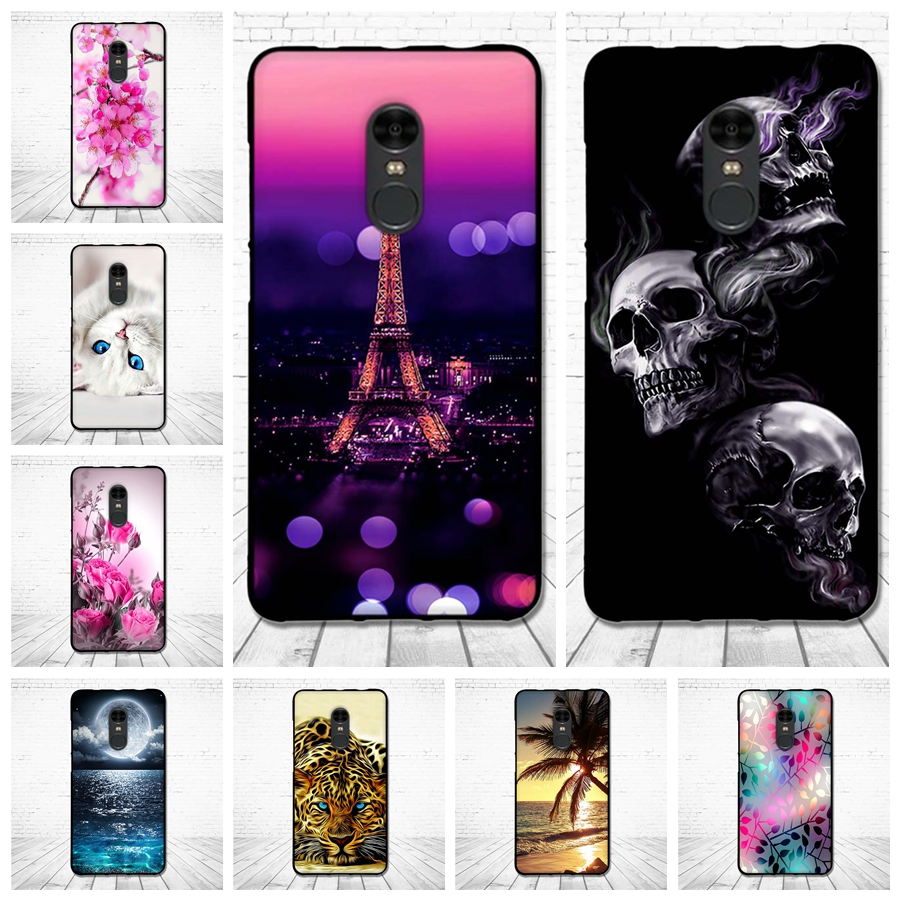 TPU Shells For Xiaomi redmi note 4 3D Relief Painting Soft Silicone Back Case Cover For Xiaomi Redmi Note4 Protector Shells Bags