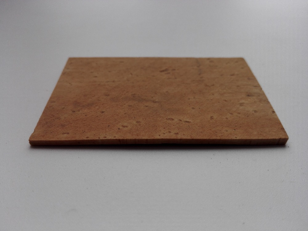 100mm*150mm Saxophone Clarinet Cork Sheet Thickness 3.0mm
