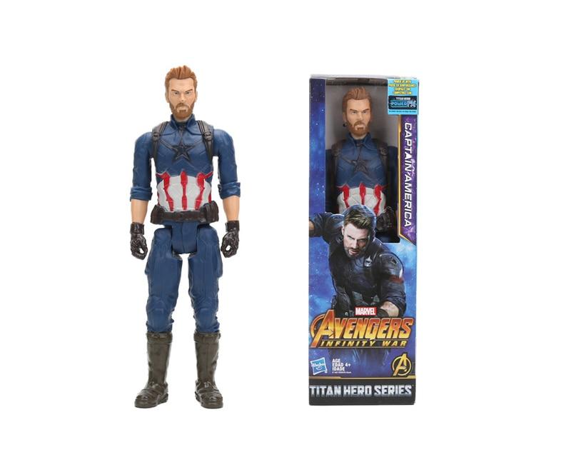 Hasbro Marvel Toys The Avenger  Super Hero Thor Captain America Wolverine  Movie&TV Action Figure Collection  Doll For Children  1