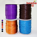 2MM Wax Cord 80meter spools Jewelry Cord Wax Cotton Cord for DIY Bracelet & Necklace Jewelry Findings Parts
