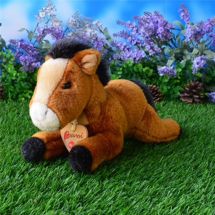 Kids toys  Stuffed Animal  Doll  Simulation  Horse Plush Toy Gift  Lying Pony Dolls