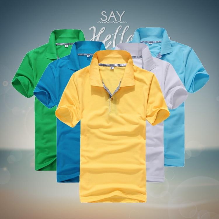Poletne poletne moške poletje 2019, moške polo majice s kratkimi - Moška oblačila - Fotografija 2