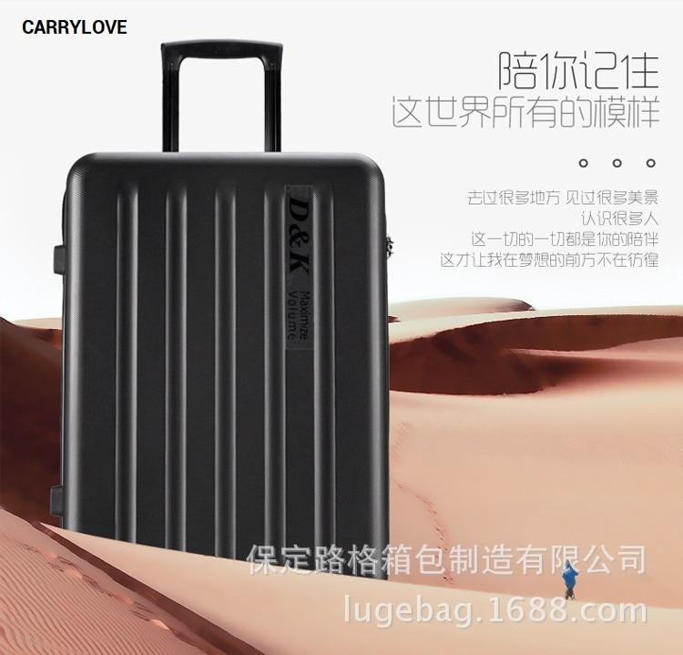 Bagaj ve Çantalar'ten Tekerlekli Bagaj'de CARRYLOVE iş bavulu serisi 20/22/24/26/28 inç boyutunda Yüksek kaliteli XM Haddeleme Bagaj Spinner marka Seyahat Bavul'da  Grup 1