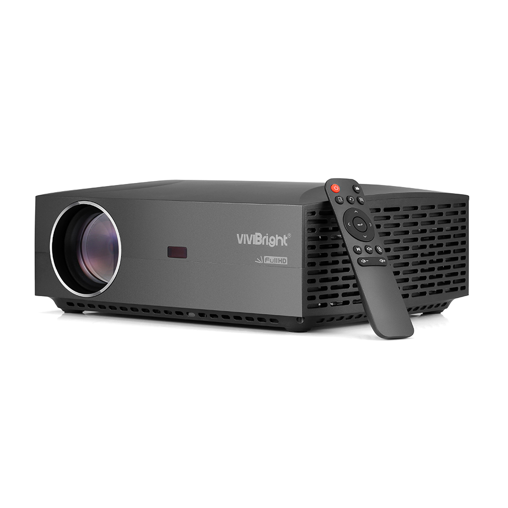 VIVIBRIGHT LCD Projector Entertainment 50000hrs 1920x1080p Lumens Home Theater FHD 4200