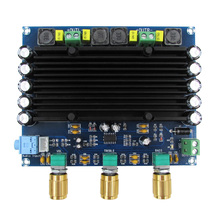 TPA3116 150w X2 2.0 çift kanal stereo HIFI dijital ses amplifikatörü kurulu TPA3116D2 DC 12V 24V araba