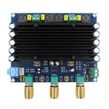 TPA3116 Placa de amplificador de Audio Digital HIFI estéreo de doble canal, 150w, X2 2,0, TPA3116D2 24V DC 12V