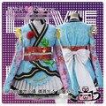 Anime love live! tv nozomi tojo quimono roupão lolita partido dress saia do uniforme cosplay custom made qualquer tamanho