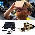Diy ultra clear google caja de cartón vr 2.0 de realidad virtual gafas 3d para iphone smartphone xiaomi mi ordenador gafas vr auricular
